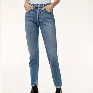 AGOLDE Jamie Jeans in Passenger👖